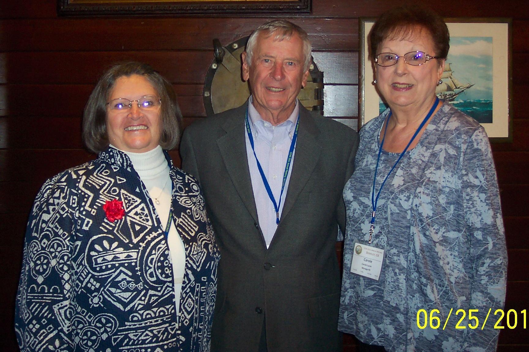 Pam Williams, Ron Louis, Carole Lucas